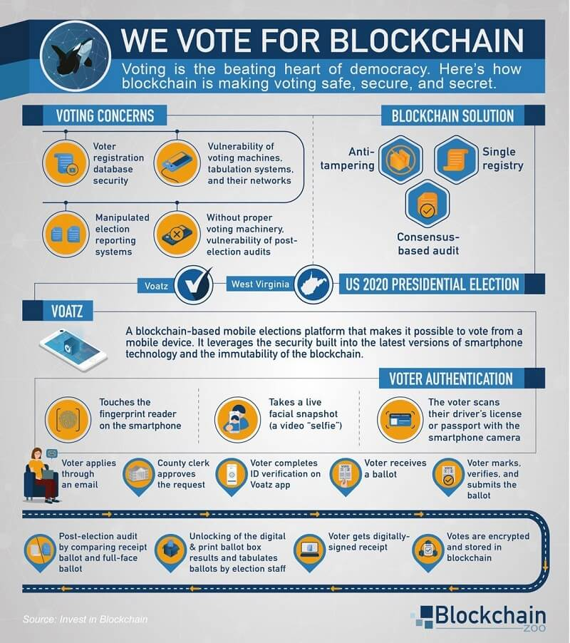 We Vote for Blockchain