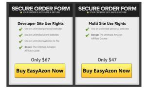EasyAzon cost