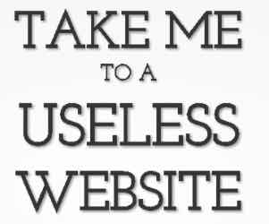What is Useless Website | Useless Website