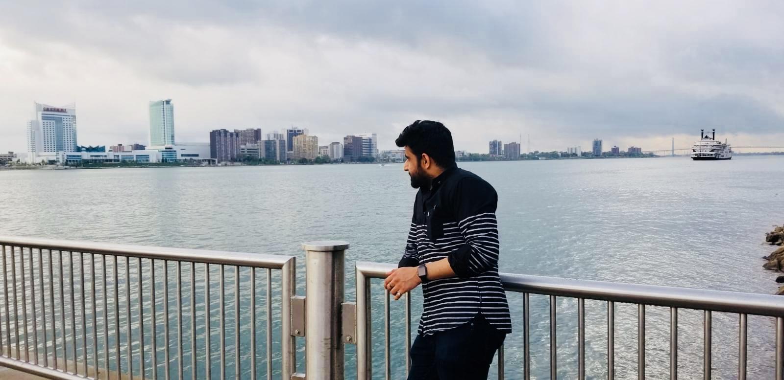 ishant nayyar usa trip may 2018 - usa canada border