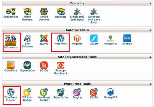 how to start a blog in india - the wordpress installation using softaculous