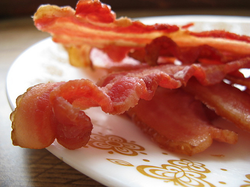 This bacon is perfectly safe for consumption.