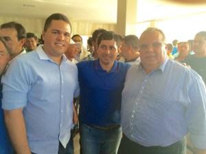Diego, Helhinho e o Deputado Federal Rômulo Gouveia