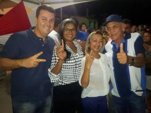 Edvaldo, Magela e amigos