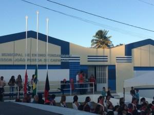 E.M.E.F Professor João Pessoa de Carvalho, na Zona Rural de Camaratuba
