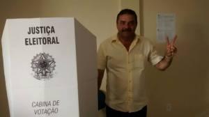 Prefeito eleito Totó Ribeiro (PSDB)