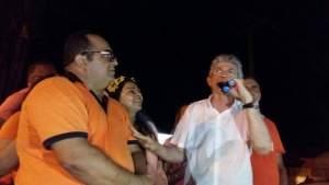 Fernando Naia e o Governador Ricardo Coutinho