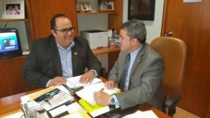 Audiência aconteceu no gabinete do deputado federal Efraim Filho