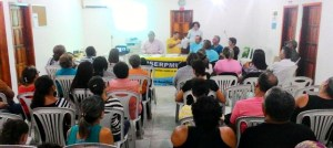 Prefeito Fernando Naia se reuniu com professores no Sindicato dos Servidores Público Municipal