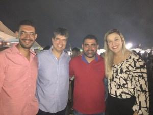 Prefeito Tiago Lisboa(Capim), Ex-Deputado Ruy Carneiro, Prefeito Jair(Cuité de Mamanguape), Deputada Estadual Camila Toscano