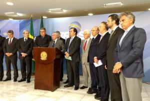 O presidente  Michel Temer fala sobre a alterações na proposta da reforma Previdência Valter Campanato/Agência Brasil