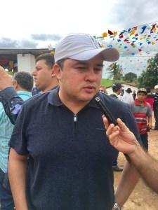 Deputado Federal Efraim Filho (DEM), em visita a Itapororoca na Cavalgada de Santo Antônio. Foto: Napoleão Soares