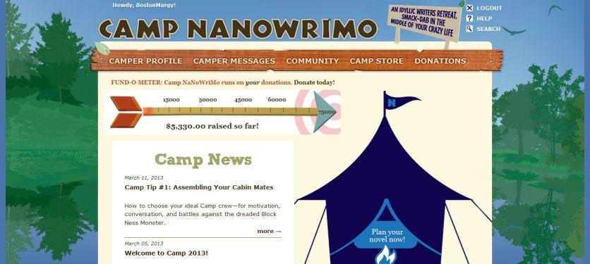 Link to Camp NaNoWriMo