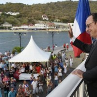 Déplacement de François Hollande en Martinique