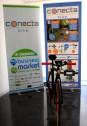 Bici de Conecta Bike en las oficinas de la UMH