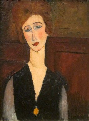 Portrait of a Woman (1917-18)