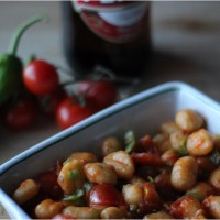 Il gusto della domenica: gnocchi ai pomodori pachino e friggitelli