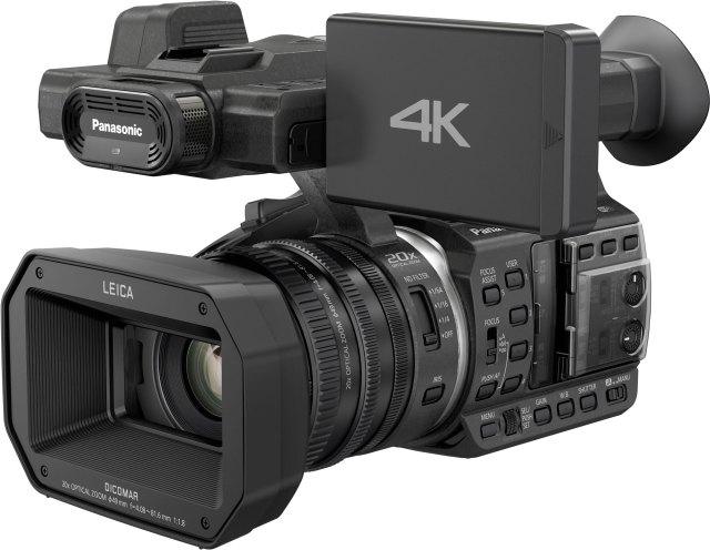 Panasonic's new 4K Camcorder for consumers