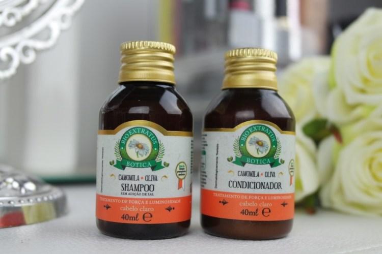 vidro shampoo camomila bioextratus