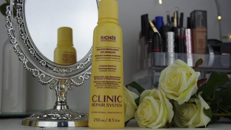 shampoo clinic repair system richée blog da ana