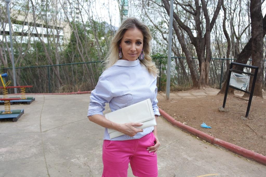 1 camisa 4 looks rosa blog da ana