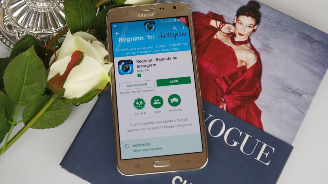 como repostar regrann instagram capa blog da ana