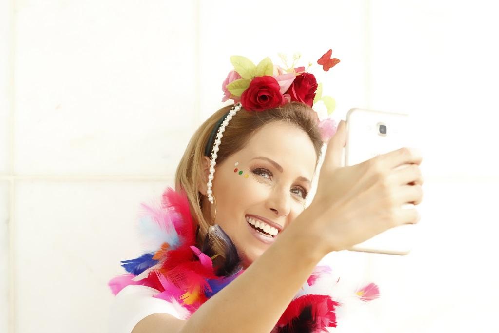 tiara carnaval flores drops e blog da ana