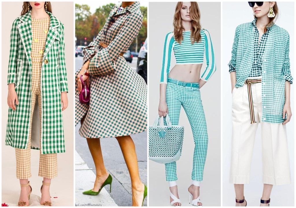 xadrez vichy fashion verde blog da ana