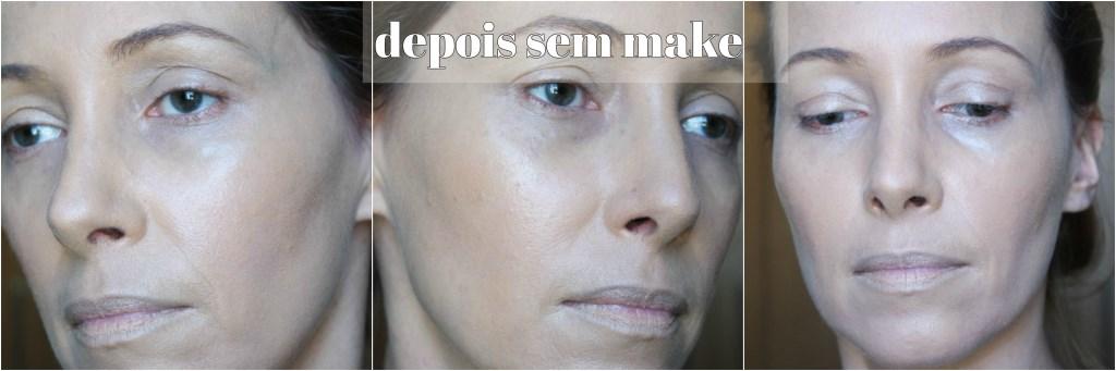idéal soleil efeito mate depois sem make blog da ana
