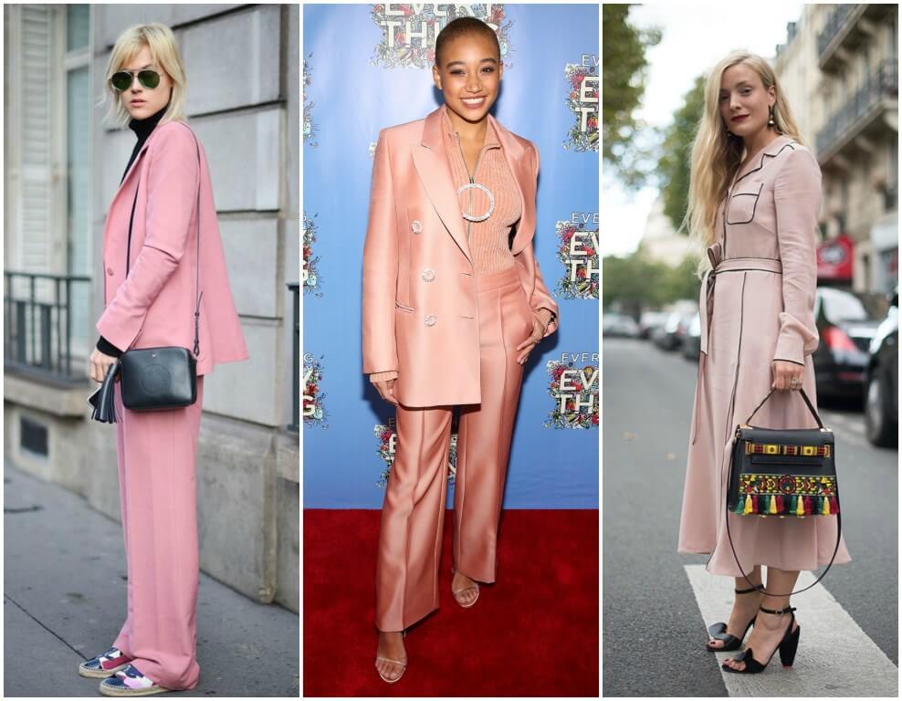millennial pink look terninho blog da ana