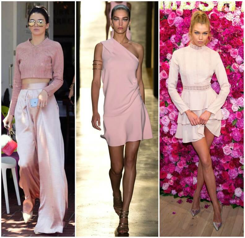 millennial pink vestido curto blog da ana
