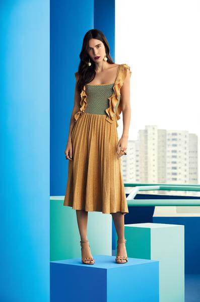 coleção cápsula gig couture cea babado plissado blog da ana