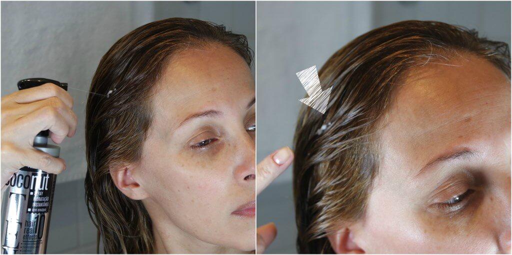 resenha lokenzzi spray coconut aplicação cabelo blog da ana