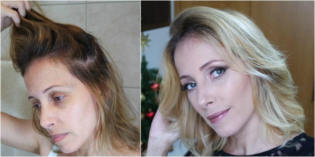 mechas free handas + hair contour antes blog da ana