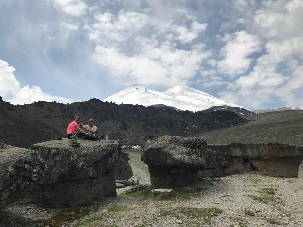 Monte Elbrus Rota Norte
