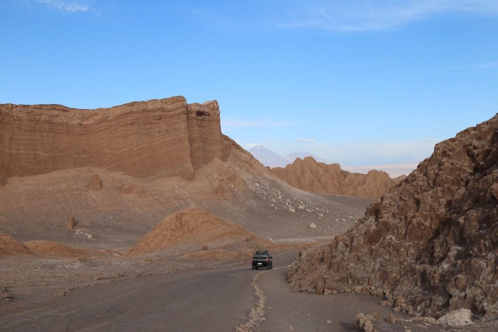 Vale da Lua. De carro para o Salar do Uyuni e Atacama
