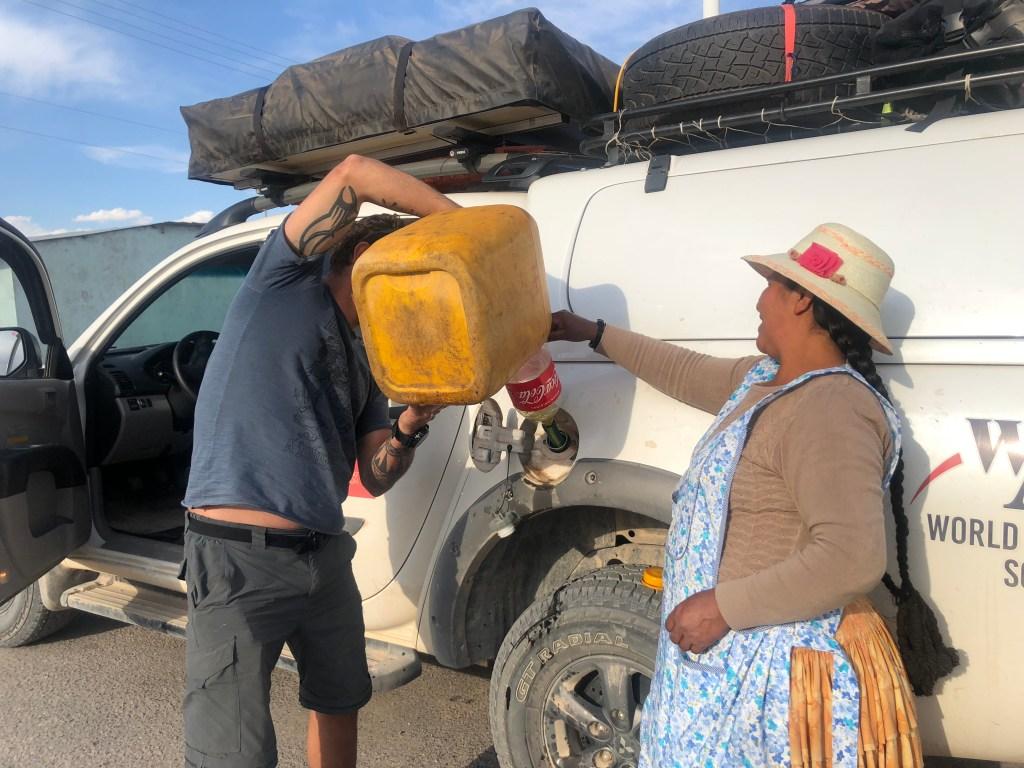Viagem de carro pela America do Sul, Bolivia