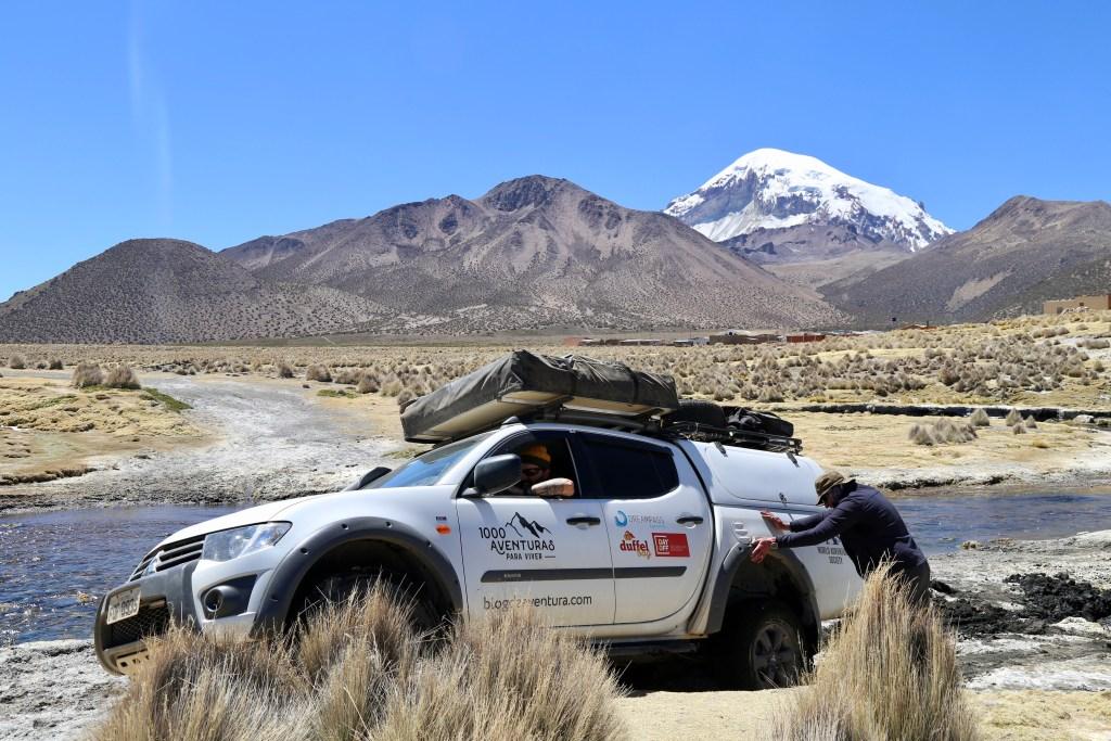 Viagem de carro pela America de Sul, Sajama Bolivia