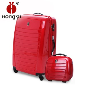 Red-abs-trolley-luggage-universal-wheels-suitcase-password-box-travel-bag-female-20-24-28