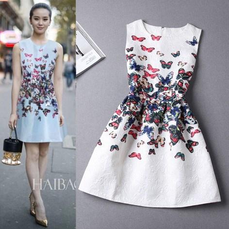 15-Colors-Casual-Print-Dress-New-2015-Fashion-Printing-Sleeveless-Vest-Dress-Vestidos-Vintage-Woman-tutu