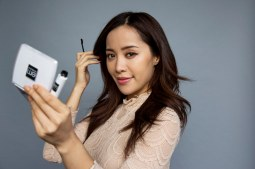 SANTA MONICA, CA - July 14, 2014: YouTube star Michelle Phan is photographed with her L'Oreal makeup line at Ipsy Studios in Santa Monica. (Photo by Katie Falkenberg/Los Angeles Times via Getty Images)
