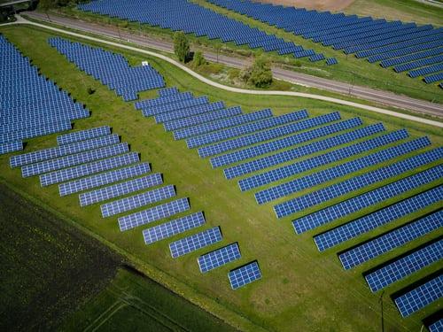 Conceito da produção de energia limpa