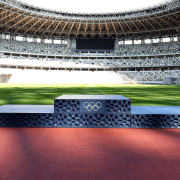 Pódio Olimpíadas 2020