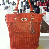 Novo sorteio - Orange bag by Schutz