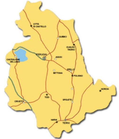 mapaumbria