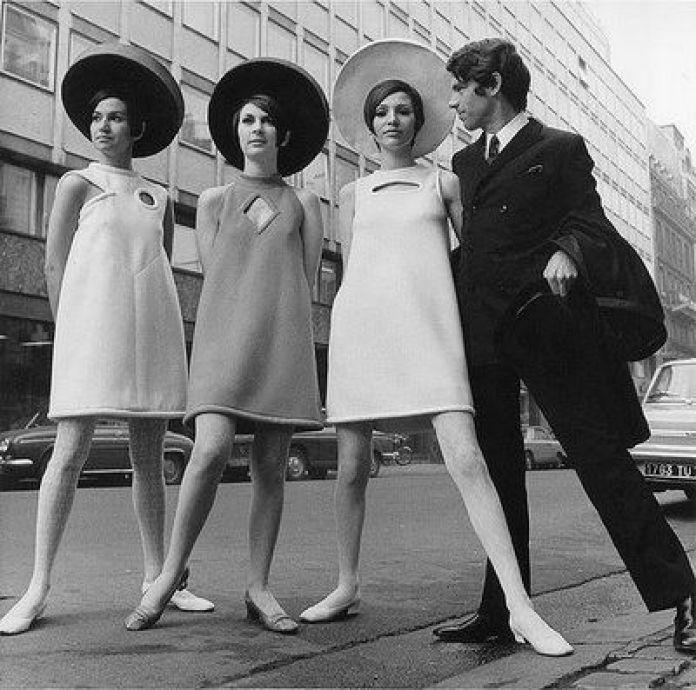 História da Moda de 1960 a 1970  1564c5de788