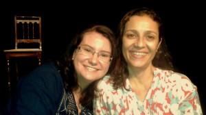 Clarissa Lago e Cyria Coentro
