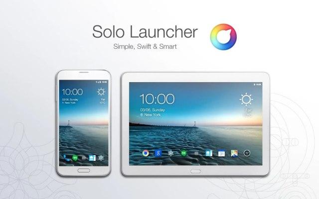 solo launcher para android lanzador de apps veloz y personalizable
