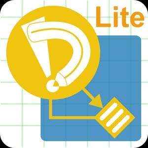 mejores apps para crear diagramas uml en android - drawexpress diagram lite
