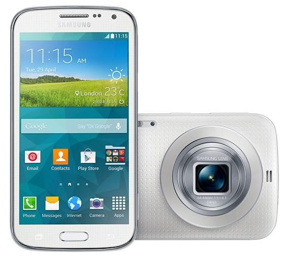 smartphones con mejor camara de fotos - galaxy k zoom